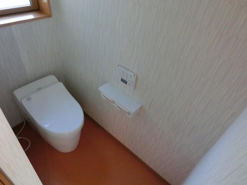 1階トイレ(TOTOネオレスト)